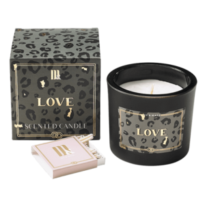 Luxury scented candle Crazy Leopard- ME&MATS - Gift - Luxe - Personal message - Wrapped gift